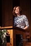 Pastor Kara Dale sharing God's word.