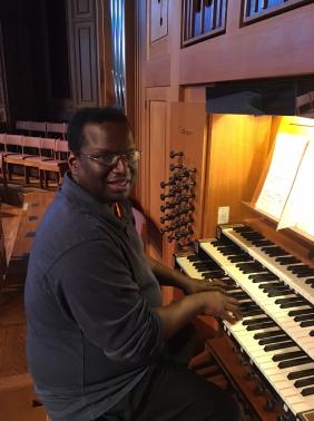 Karl Helton, organist.