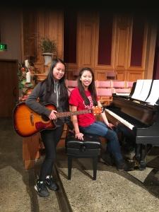 Megan and Maria Duong