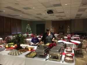 Jackee Duvall preparing Christmas breakfast