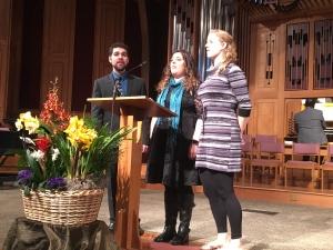 Andy and Lisa Riffel, Bethani King