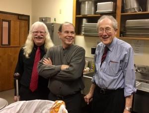 Roy Murray, Carl Buchanan, Harold Burden